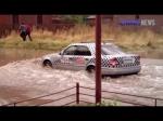 Գյումրիում հեղեղ է եղել (տեսանյութ)