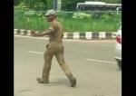 Հնդկաստանի պարող ոստիկանը