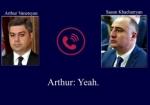 Հնարավոր է՝ միջազգային փորձագետներ հրավիրվեն ԱԱԾ տնօրենի և ՀՔԾ պետի հեռախոսազրույցի գաղտնալսման գործով (տեսանյութ)