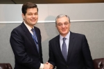 Զոհրաբ Մնացականյանը հանդիպել է Եվրոպայի և Եվրասիայի հարցերով ԱՄՆ պետքարտուղարի տեղակալի հետ