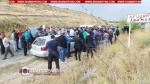 Արամուսցիները փակել են ճանապարհը և պահանջում են գյուղապետի հրաժարականը