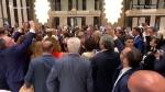 Пашинян, Макрон и Трюдо станцевали под армянскую музыку (видео)