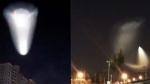 Жители Пекина заметили в небе похожий на НЛО объект (видео)