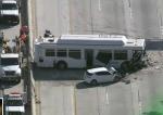 В крупном ДТП в Калифорнии пострадали 40 человек (видео)