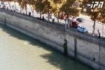 Մեքենան ընկել է Քուռ գետը