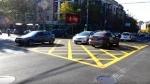 Գործարկվեցին խաչմերուկ դեղին գույնի վանդակաձև հորիզոնական գծանշումները
