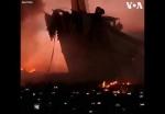 Թայվանում կրկին նավ են այրել