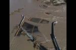 Իտալիայում ջրհեղեղի հետևանքով կամուրջ է փլվել
