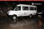 Երևանում 56-ամյա վարորդը Opel-ով բախվել է թիվ 61 երթուղին սպասարկող մարդատար ГАЗель-ին. կան վիրավորներ