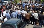 Մարտունիում ՔՊ ակտիվիստները փակել են Երևան-Վարդենիս-Մարտակերտ ճանապարհը