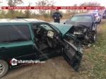 Ճակատ-ճակատի բախվել են Volkswagen-ն ու Opel-ը. կա 4 տուժած