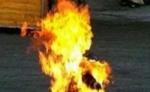 Երևանում քաղաքացին շշով լի բենզինով փորձել է ինքնահրկիզվել