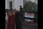 ԱՄՆ-ի առաջին տիկինն ու նախագահը ընդունել են Սպիտակ տան տոնածառը