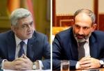 Սերժ Սարգսյանը և Նիկոլ Փաշինյանը՝ գաղջ մթնոլորտի մասին