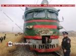Շիրակում բախվել են մարդատար էլեկտրագնացքը և КрАЗ-ը. գնացքում եղել են մեծ թվով քաղաքացիներ