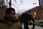 Ինձ միշտ երկար նայում են . Աֆրիկացի ուսանողը Երևանում