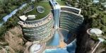Չինաստանում քարհանքում հյուրանոց են կառուցել