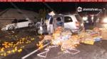 Բախվել են BMW-ն ու կարալյոկով, մանդարինով, պնդուկով բարձված Opel-ը. կան տուժածներ