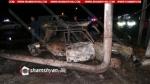 Արարատում 06-ը բախվել է գազախողովակի հենասյանը, ինչի հետևանքով հրդեհ է բռնկվել․ կան տուժածներ