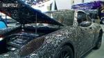 Գերմանիայում նկարիչները Porsche են հավաքել մետաղաջարդոնից