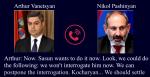 Համացանցում այժմ էլ հրապարակվել է Նիկոլ Փաշինյանի և Արթուր Վանեցյանի հեռախոսազրույցի գաղտնալսման ձայնագրությունը (տեսանյութ)