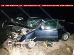 Mercedes-ը բախվել է կամրջի բետոնե արգելապատնեշներին. 5 վիրավորներից 2-ը երեխաներ են