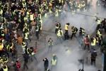 Փարիզում ոստիկանները արցունքաբեր գազ են կիրառել ցուցարարների դեմ (տեսանյութ)