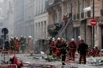 В результате взрыва в центре Париже пострадали более 20 человек