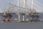 В Нью-Йорке взорвали часть моста через Гудзон