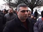 Ավտոներկրողները բողոքի ակցիա են անում Կառավարության դիմաց (տեսանյութ)