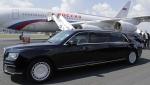 Путин прокатил Вучича на лимузине «Aurus»