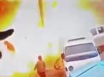 Момент взрыва в сирийском Манбидже попал на видео