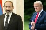 Թրամփը շնորհավորական ուղերձ է հղել Ն. Փաշինյանին
