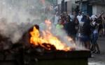 Վենեսուելայում ցուցարարներն այրել են Չավեսի արձանը
