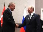 Эрдоган прибыл на встречу с Путиным