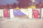 Թուրքերը գիշերը Լոս Անջելեսի հայկական դպրոցի վրա իրենց դրոշներն են կպցրել (լուսանկարներ)