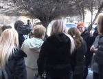 Փողոցային առևտրով զբաղվողները բողոքի ցույց են անում Կառավարության դիմաց (տեսանյութ)