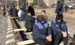 Ալավերդու պղնձաձուլարանի աշխատակիցները փակել են միջպետական երկաթուղին