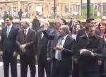 Հյուրանոցի բացմանը Նիկոլ Փաշինյանին դիմավորել են դհոլ նվագող երեխաները