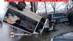 Վանաձորում բախվել են Mercedes-ն ու բեռնատար Ford-ը. կան վիրավորներ