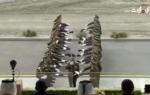 Выступление почетного караула и оркестра Минобороны Армении в Абу-Даби (видео)