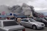 Բաքվի խոշոր առևտրի կենտրոններից մեկի տարածքում հրդեհ է բռնկվել (լուսանկար)