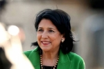Վրաստանի նախագահը մարտին կայցելի Հայաստան