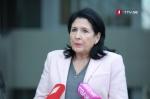 Ընդդիմությունը բոյկոտում է Վրաստանի նախագահի ելույթը խորհրդարանում