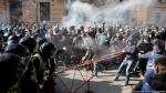 Ուկրաինայում ազգայնականների հետ բախումներում 25 ոստիկան է վիրավորվել