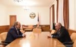 Բակո Սահակյանը և Նիկոլ Փաշինյանը կարևորել են Հայաստան-Արցախ սերտ փոխգործակցության ընդլայնումը