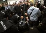 Демонстранты в Сербии ворвались в здание гостелевидения (видео)