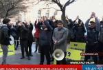 «Дмп-дмп-ху!» перед зданием Правительства РА