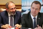 Փաշինյանը և Մեդվեդևը քննարկել են Եվրասիական միջկառավարական խորհրդի առաջիկա նիստը
