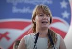 Грузинская оппозиция выдвинула жену Саакашвили кандидатом в мэры Зугдиди